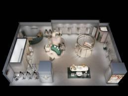 CHICHY-20时装空间设计图